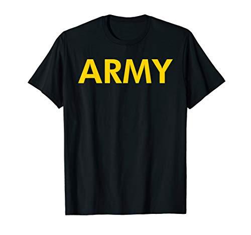 Army Logo Shirt APFU Workout -