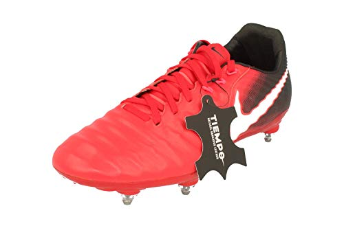 Nike Tiempo Legacy III SG Mens Football Boots 897798 Soccer Cleats (UK 9 US 10 EU 44, University red Black White 610) (Jordan 3 Football Cleats)