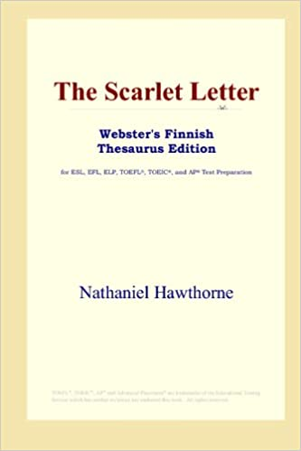 The Scarlet Letter (Webster's Finnish Thesaurus Edition)