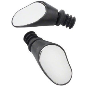 - Sprintech Drop Bar Mirror, Black, Pair