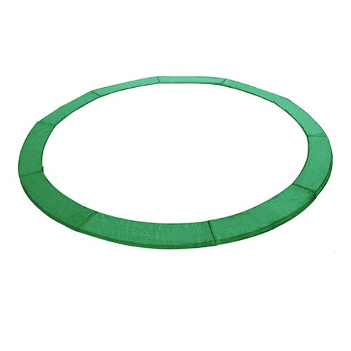 Exacme 6180-CP14G Trampoline Replacement Safety Pad Frame Spring Round Cover, Green, 14'
