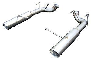 Pypes Exhaust SFM76MS Axle Back Exhaust System for Ford Mustang 5.0L Engine