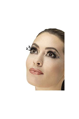 (Smiffy's 47060 Winged Butterfly Eyelashes (one)