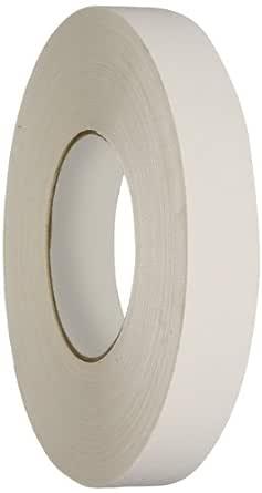 "Polyken 510 Vinyl Coated Cloth Premium Gaffer's Tape, 11.5 mil Thick, 55 yds Length, 1"" Width, White"