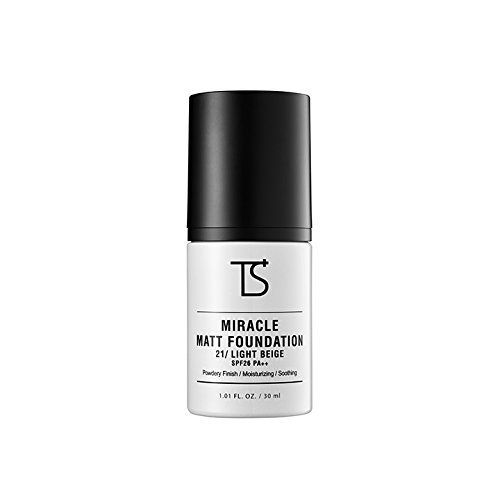 [Trouble Solution] Miracle Matt Foundation #21 Light Beige (1.01 fl. oz. / 30 ml)