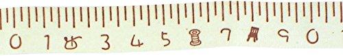 Trimweaver tw-58-fabric-tape-measuring-tape-2yd cinta métrica impresión cinta adhesiva de tela, 5/8