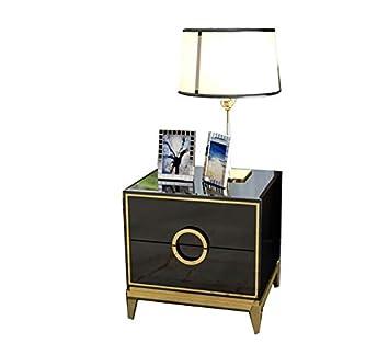 Amazon.com: KTH Postmodern - Mesita de noche de lujo, simple ...