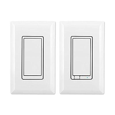 Latest Z-Wave Plus GE by Jasco Wireless Lighting Control Three-Way On/Off Kit