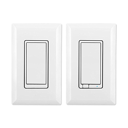 Latest Z-Wave Plus GE by Jasco Wireless Lighting Control Three-Way On/Off Kit, Works with Amazon Alexa (Retail Packaging)