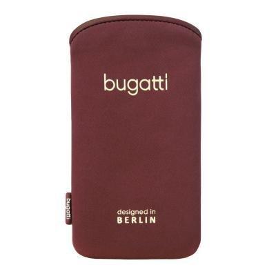 bugatti SlimCase Odessa für Apple iPhone SE / 5S / 5 / 5C, Samsung Galaxy S4 mini - Größe ML [SoftTouch Neopren | EasyCleaning-Effekt | Super dünn & leicht] - 08444