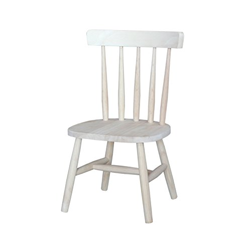 Kids Unfinished Wood Chair - Set of 2