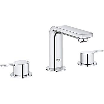 Essence 8 In Widespread 2 Handle Low Arc Bathroom Faucet