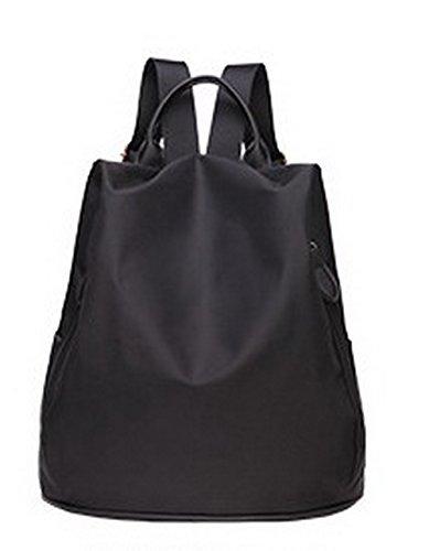 VogueZone009 de Nylon Voyage Femme Sacs dos Daypacks CCAFBP181281 randonnée Noir à Daypack Zippers Violet IEwrqI