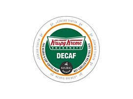 Krispy Kreme, House Decaf, K-Cup Portion Pack for Keurig Brewers, 24 Count (Smooth Cream Coffee)