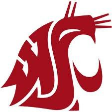 Washington State Cougars Cornhole Decals - 2 Cornhole Decals Vinyl Decals by The Cornhole King