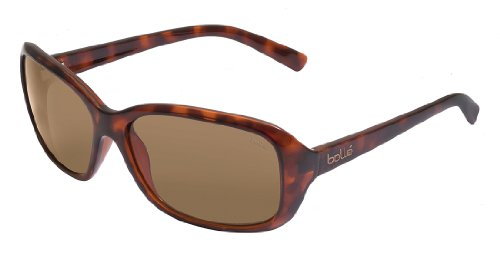 Bolle Molly Sunglasses Dark Tortoise Frame Frame, Brown ()