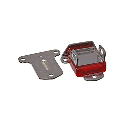 Eckler's Premier Quality Products 57367238 Chevy Motor Mount Urethane Zinc Plated (Chevy Chrome Motor Mount)