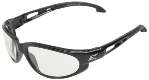 Dakura Safety Glasses, Black with Clear Anti-Fog Lens (Dakura Safety Glasses Black Frame)