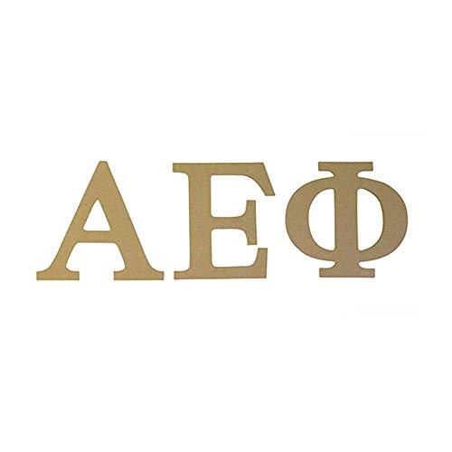 "Alpha Epsilon Phi Sorority 7.5"" Unfinished Wood Letter Set A E Phi"
