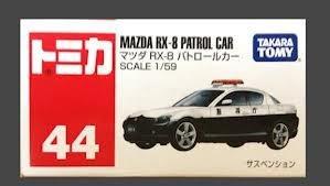 Takara Tomy 44 Mazda Rx8 Petrol Car Scale 1:59 Toy Model