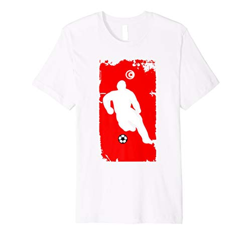 - Tunisia Soccer Jersey - Tunisians Flag | Football Futbol
