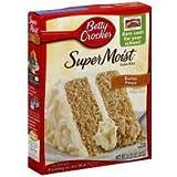 Betty Crocker Cake Mix Butter Pecan, 15.25 OZ (Pack of 12)