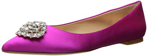 Women's Carmine Badgley Mischka Pink Toe Davis Pointed Flat w5aZYq