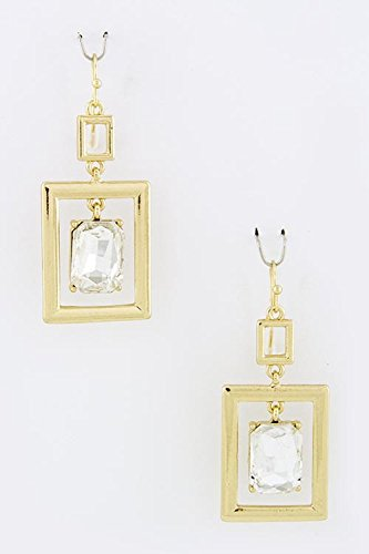 trendy-fashion-jewelry-square-crystal-dimpled-earrings-by-fashion-destination-gold
