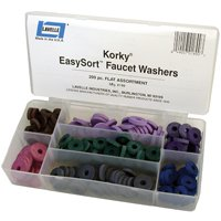 Lavelle Industries 189 Faucet Flat Washer Kit - 200 Pieces
