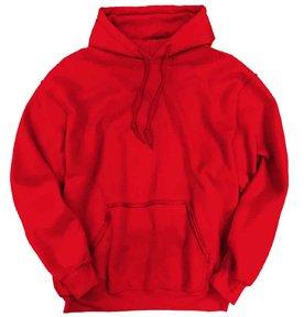 Gildan 18500 Hooded Sweatshirt - Red - XL