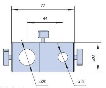 PJ04-(20-12) Swivel Post Clamps