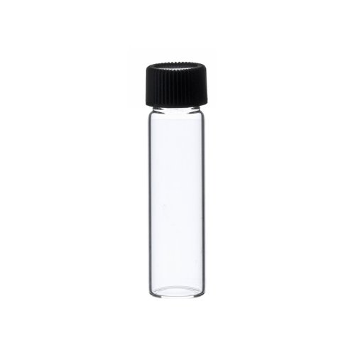 2 Dram CLEAR Glass Vial - Screw Cap - Pack of 144