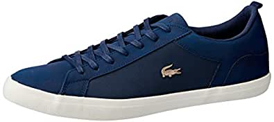 Lacoste Men's Lerond 119 4 Men's Fashion Shoes, NVY/Off WHT, 7 US