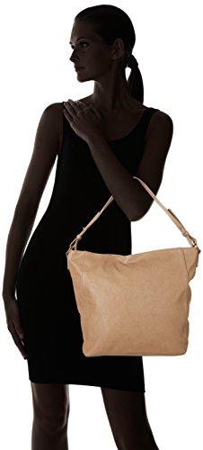Oxbow K1FALMENTA Sac Besace, PU Grainée Femme, Naturel, FR : Taille Unique (Taille Fabricant : U)