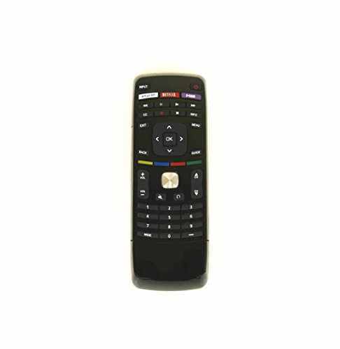 Gvirtue Universal Replacement Lost TV Remote for Almost All Vizio LED LCD Smart E Series TV Smart Internet Apps with Amazon, Netflix & M-GO Keys, Sub XRT112 XRT100 VR1 2 10 15 etc