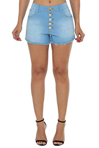 Shorts Eventual Mid Drop Azul 42