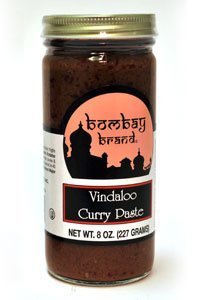 Bombay Brand 301 Vindaloo Curry Paste44; Case of 6 - 9 oz. Jars