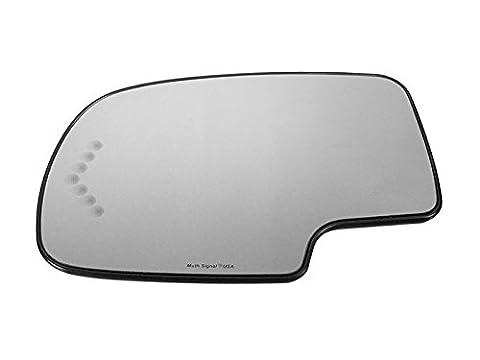 APA Silverado GMC Sierra 1500 2500 3500 03 - 07 Power Heated With Signal Mirror Glass Lh - Suburban Driver Mirror Glass