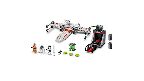 LEGO Star Wars X-Wing Starfighter Trench Run 75235 4+ Building Kit, 2019 (132 Pieces)