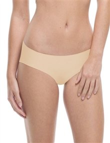 commando Bikini Panty (BK) S/M/True Nude