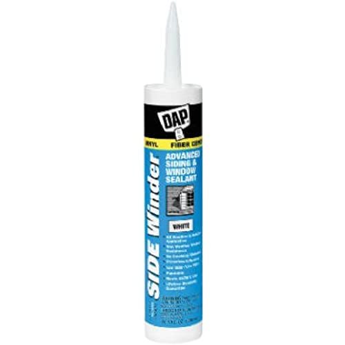 """side Winder"" Silicone Rubber Sealant 10.1oz - White (Pack Of 12)"