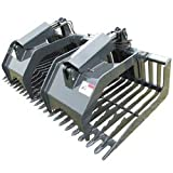 Stout - Skid Steer Rock Grapple Bucket (Open End) 72""
