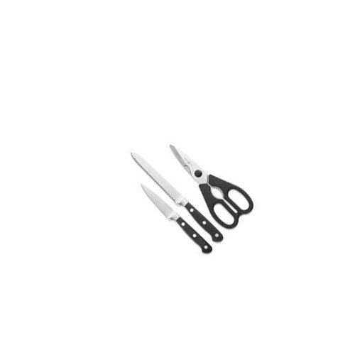 Wüsthof Classic Utility Knife & Kitchen Shears 3-Piece Set