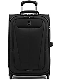 Maxlite 5-Softside Lightweight Expandable Upright Luggage, Black
