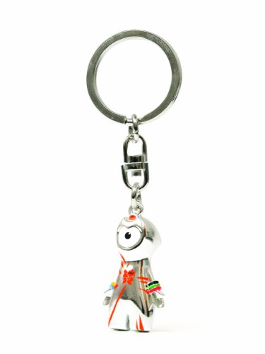 Corgi Gs62204 London 2012 Classic Wenlock Die Cast Mascot Key Ring