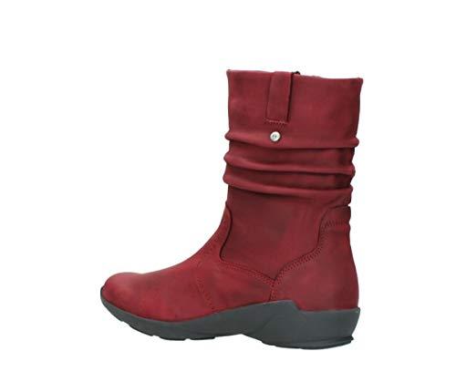 Wolky Bordeaux Nubuck Boots 01572 11530 Luna Womens r8qB0wTr