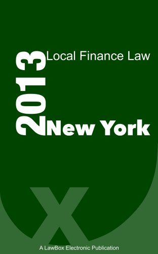 New York State Finance Law 2013
