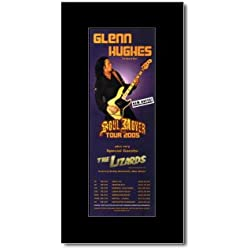 GLENN HUGHES - Soul Mover Tour 2005 Mini Poster - 28.5x10cm