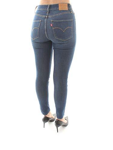 Jeans W ® Skinny 721 High Rise Levi's Blu Denim SwYOqv