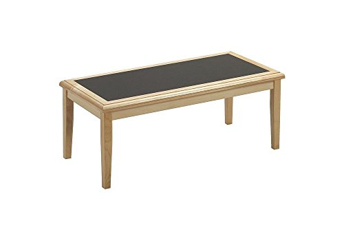(Coffee Table with Laminate Inlay Dimensions: 40